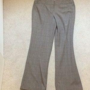 Loft career dress plaid -10 pants slacks